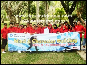 Outbound Training Bank Kesejahteraan Surabaya