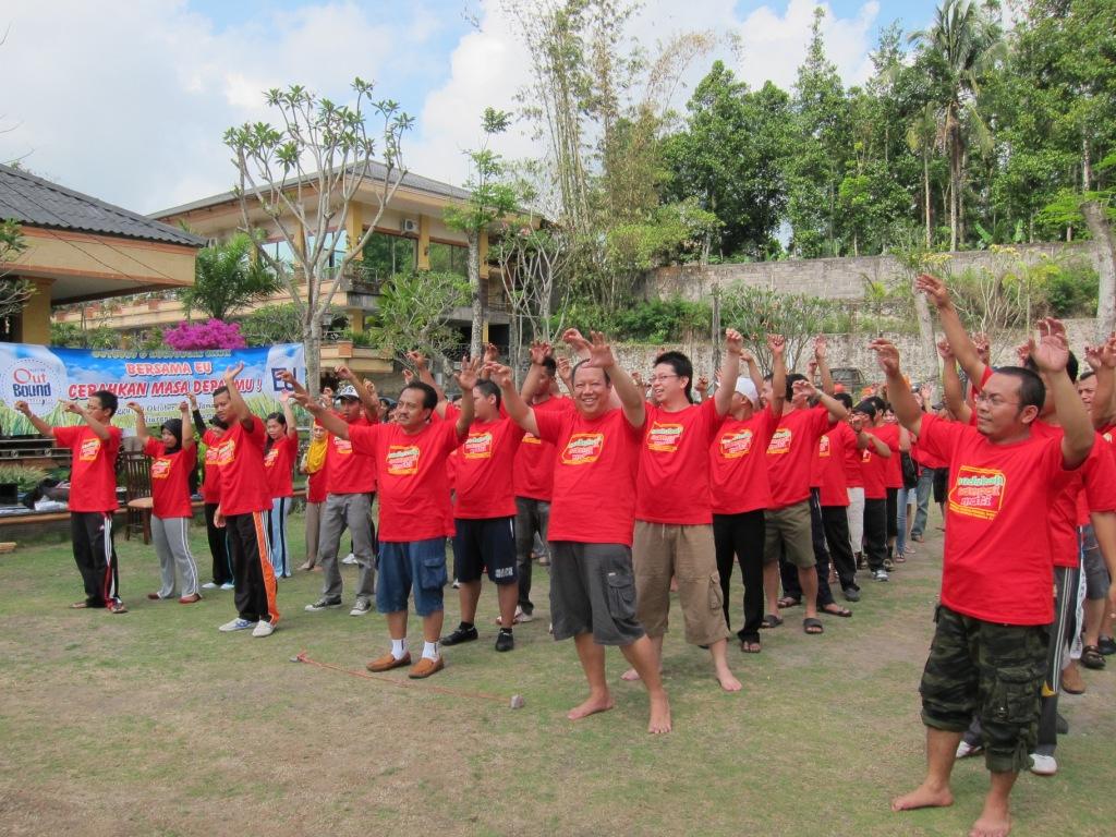 Outbound EU 23 di Yogyakarta