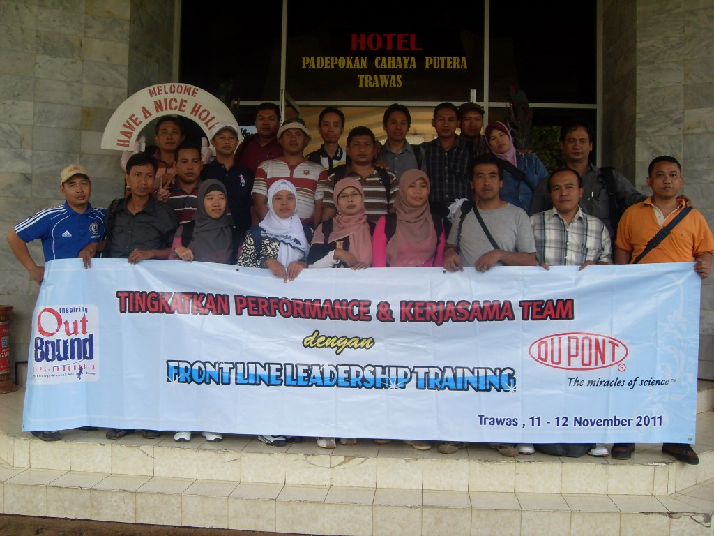 Outbound Training PT.Dupont Pasuruan-Sidoarjo