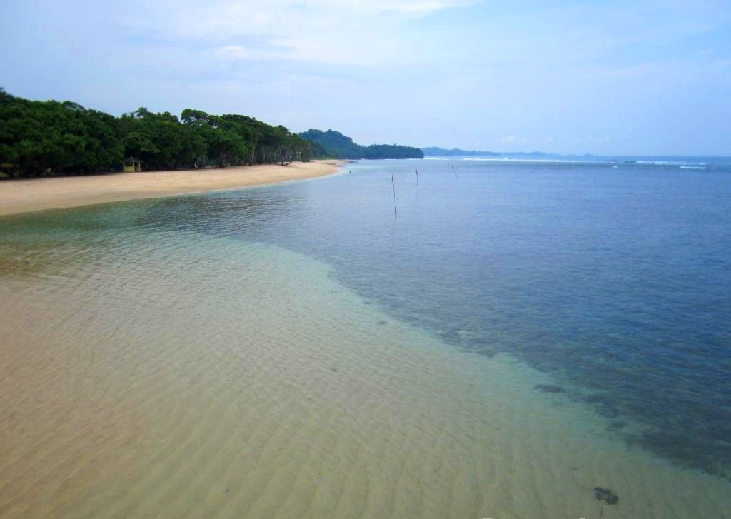 Garis Tepi Pantai Balekambang