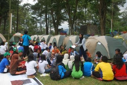 Camping Area di Waduk Selorejo Malang