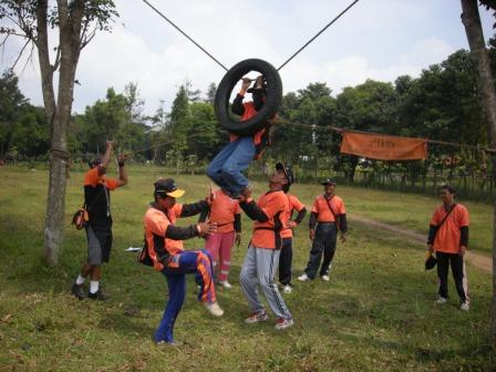 Outbound di Waduk Selorejo Ngantang