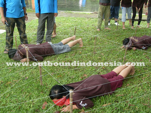 Outbound di Songgoriti - PT. Arya Group