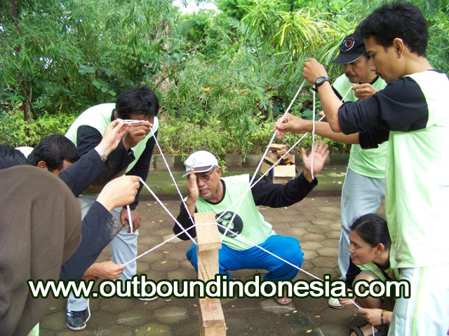 outbound di malang, set beam, www.outboundindonesia.com, 085855494440