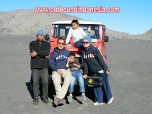 wisata outbound family gathering di gunung bromo Probolinggo Jawa Timur, www.outboundindonesia.com, 081334664876