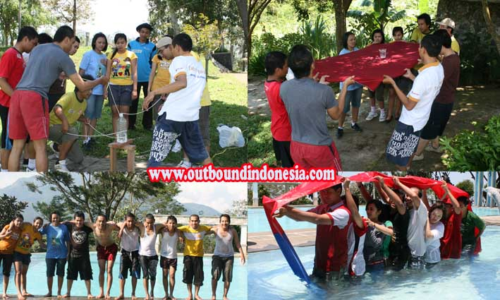 Outbound  Teamwork  Bank  OCBC NISP di Blessing Hills Trawas, www.outboundindonesia.com, 081334664876