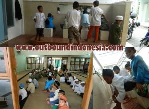 outbound anak-anak yatim di Masjid al-ghifari Malang, www.outboundindonesia.com, 081334664876