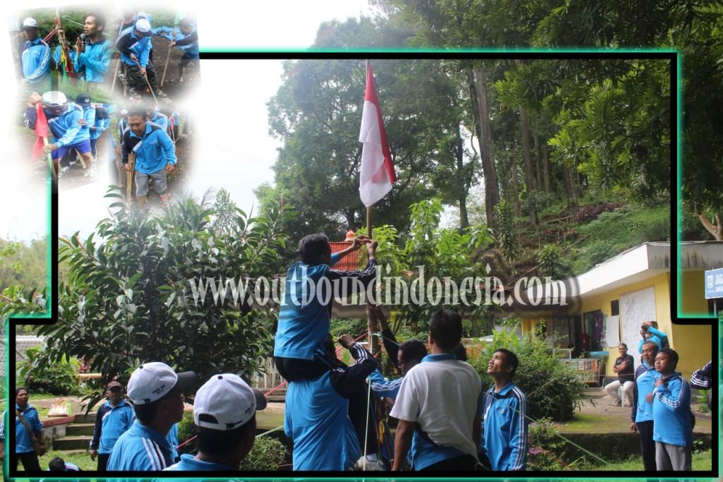 ERECTING FLAG, www.outboundindonesia.com, 085755059965