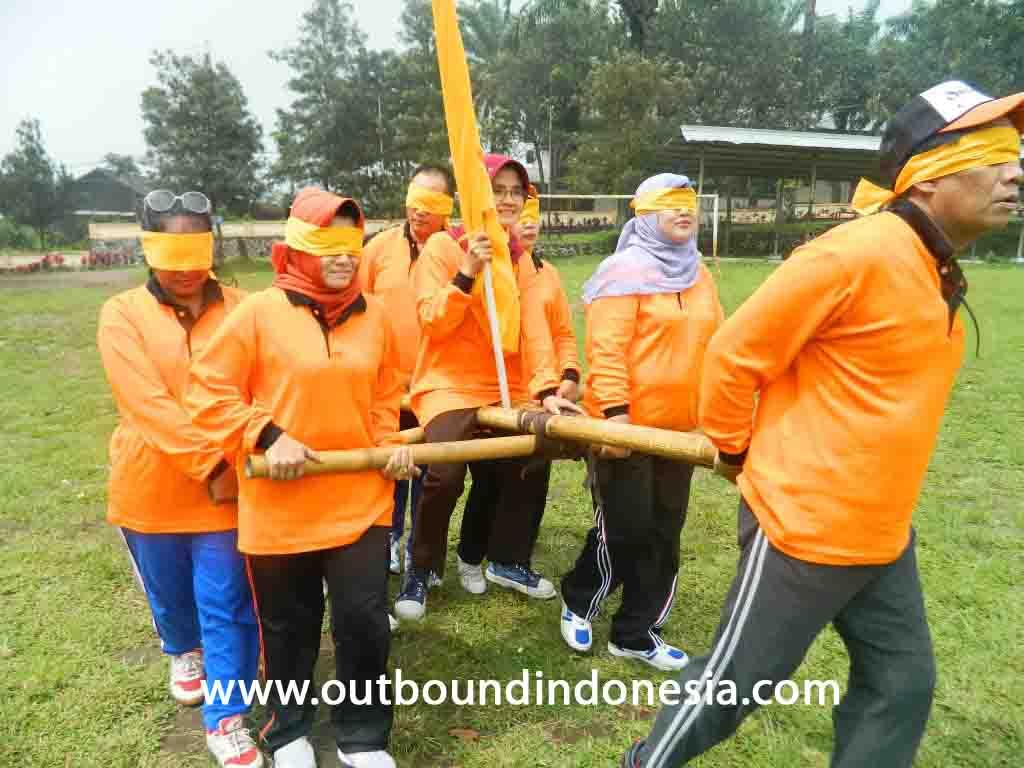 outbound team building dinkes jatim di kebun teh lawang malang